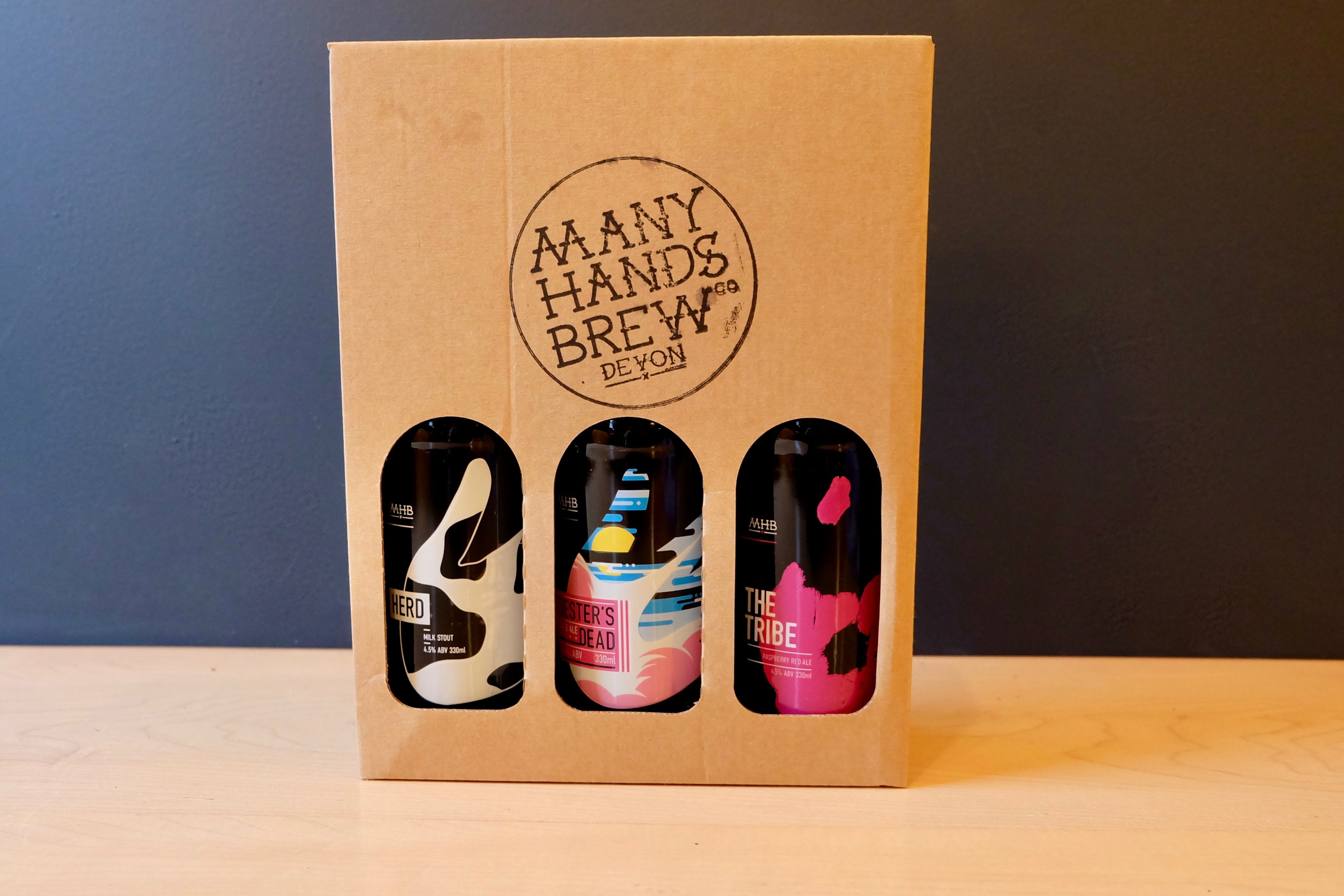 Many Hands Brew Co. Gift Box
