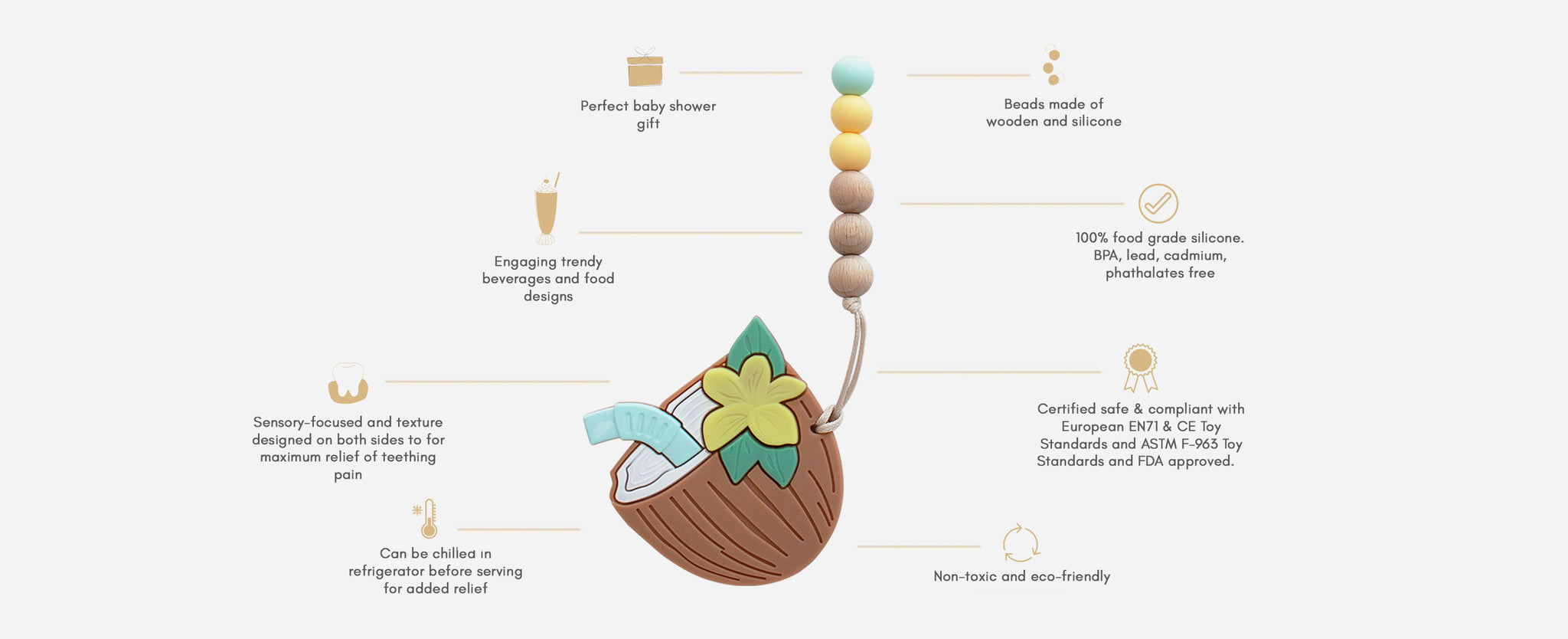 Milk It Baby Teether Specifications