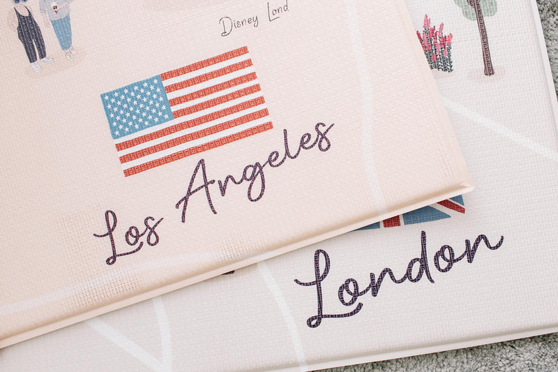 Los Angeles Play Mat