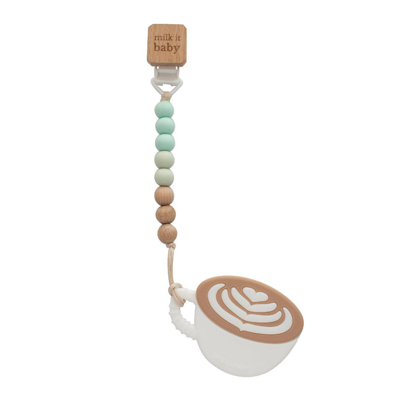 'I Love you a Latte' Teether Set