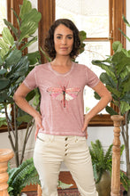 Load image into Gallery viewer, Dragonfly T-Shirt Pink