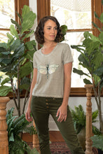 Load image into Gallery viewer, Dragonfly T-Shirt Natural