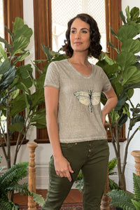 Dragonfly T-Shirt Natural