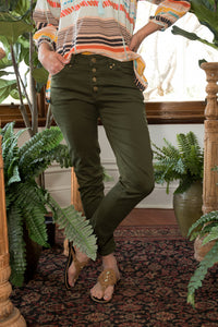 Norma Jeans Olive