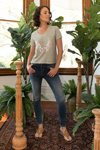 Angel Wings T-Shirt Natural