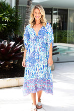 Load image into Gallery viewer, Hayman Kaftan Blue