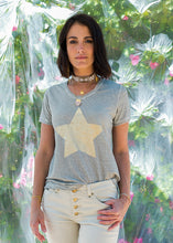 Load image into Gallery viewer, Star T-Shirt Natural