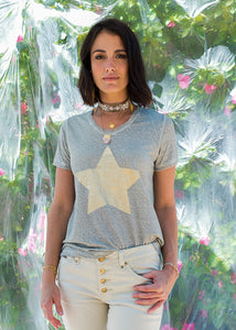 Star T-Shirt Natural
