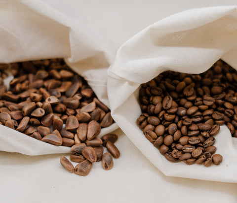 coffee beans used to make a coffee cocktail