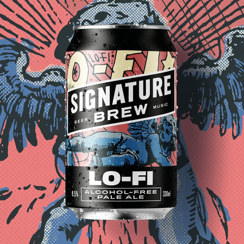 lo-fi alcohol free beer
