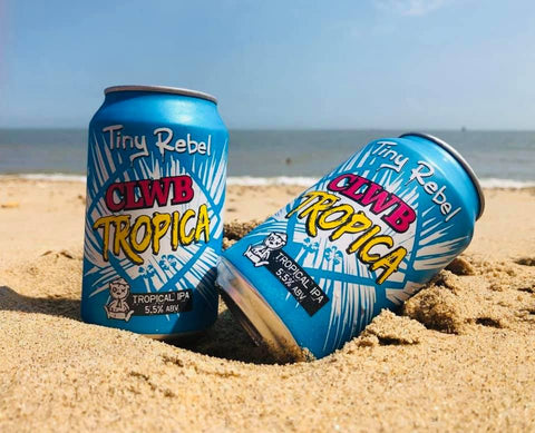 alcohol-free beer by tiny rebel