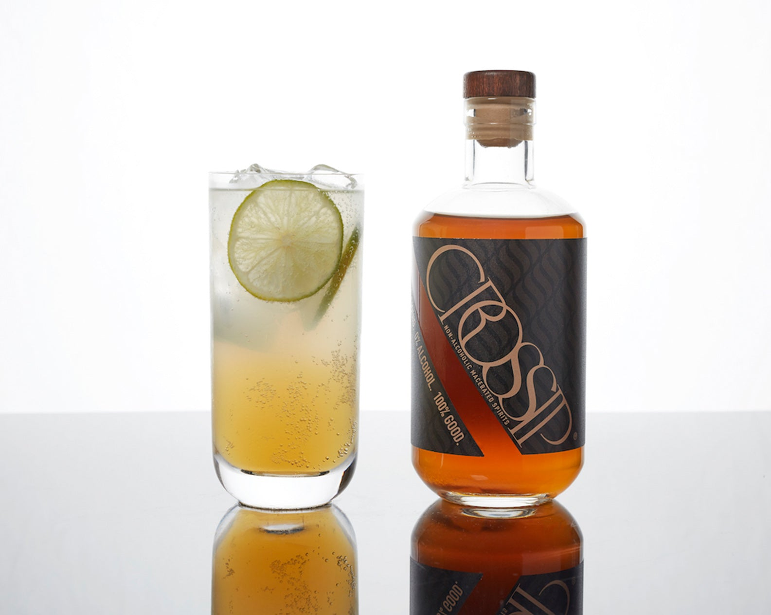 The Ginger Dandy - Non Alcoholic Cocktail Idea