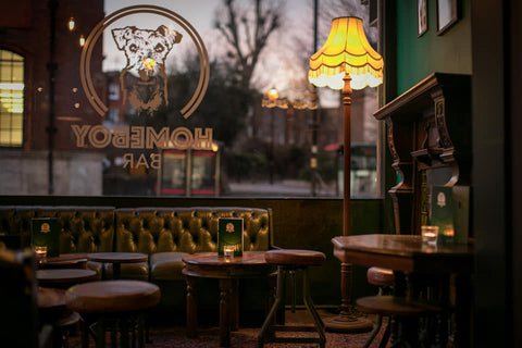 homeboy bar in London serving alcohol free drinks