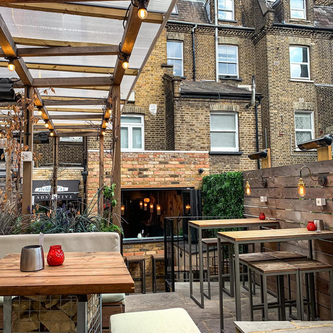 outside of heads and tails a bar serving alcohol free in London