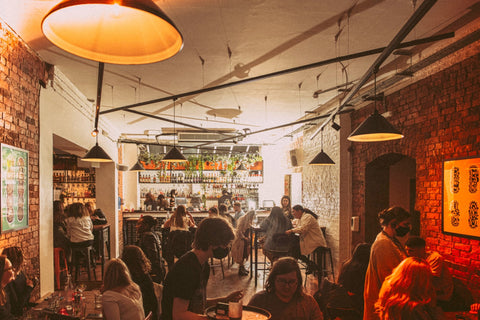 inside the book club in london serving alcohol free drinks