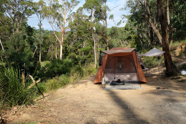 Dog friendly camping Victoria Australia