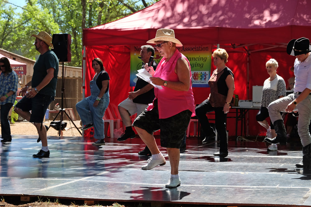 Chillout festival line dancing