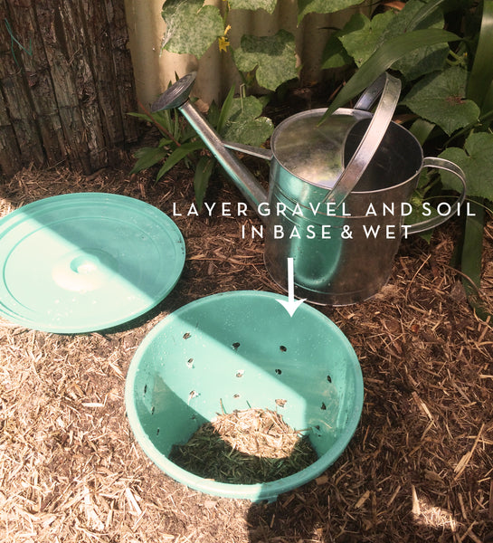 Pet composter layers