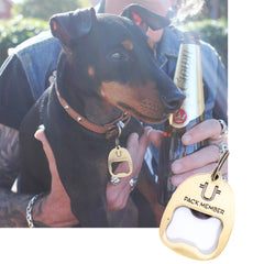 ID Dog Tag Bottle Opener