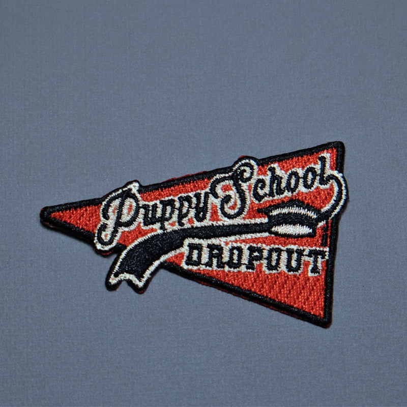 Puppy School Dropout dog patch