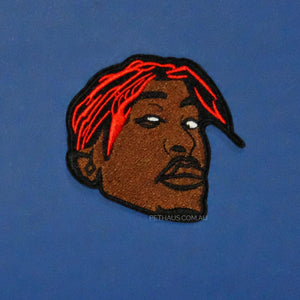 Tupac patch, Rapper patch, Gangsta patch, Pethaus