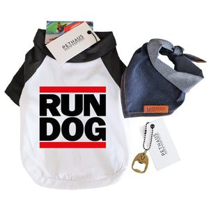 Tee for Dogs by Pethaus Run Dog