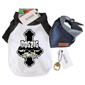 dog tee by Pethaus dogzig