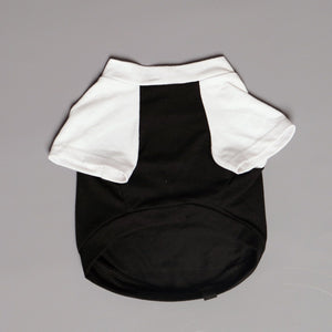 Metal tee for dog, custom dog tee, personalised dog tee, black metal dog tee, heavy metal dog tee, raglan dog tee,