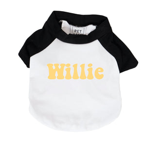 Personalised Raglan Dog Tee
