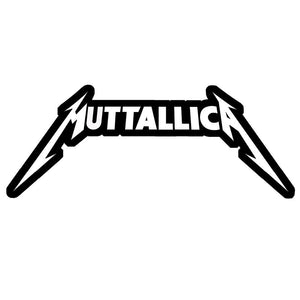 Muttallica embroidered Patch Metallica