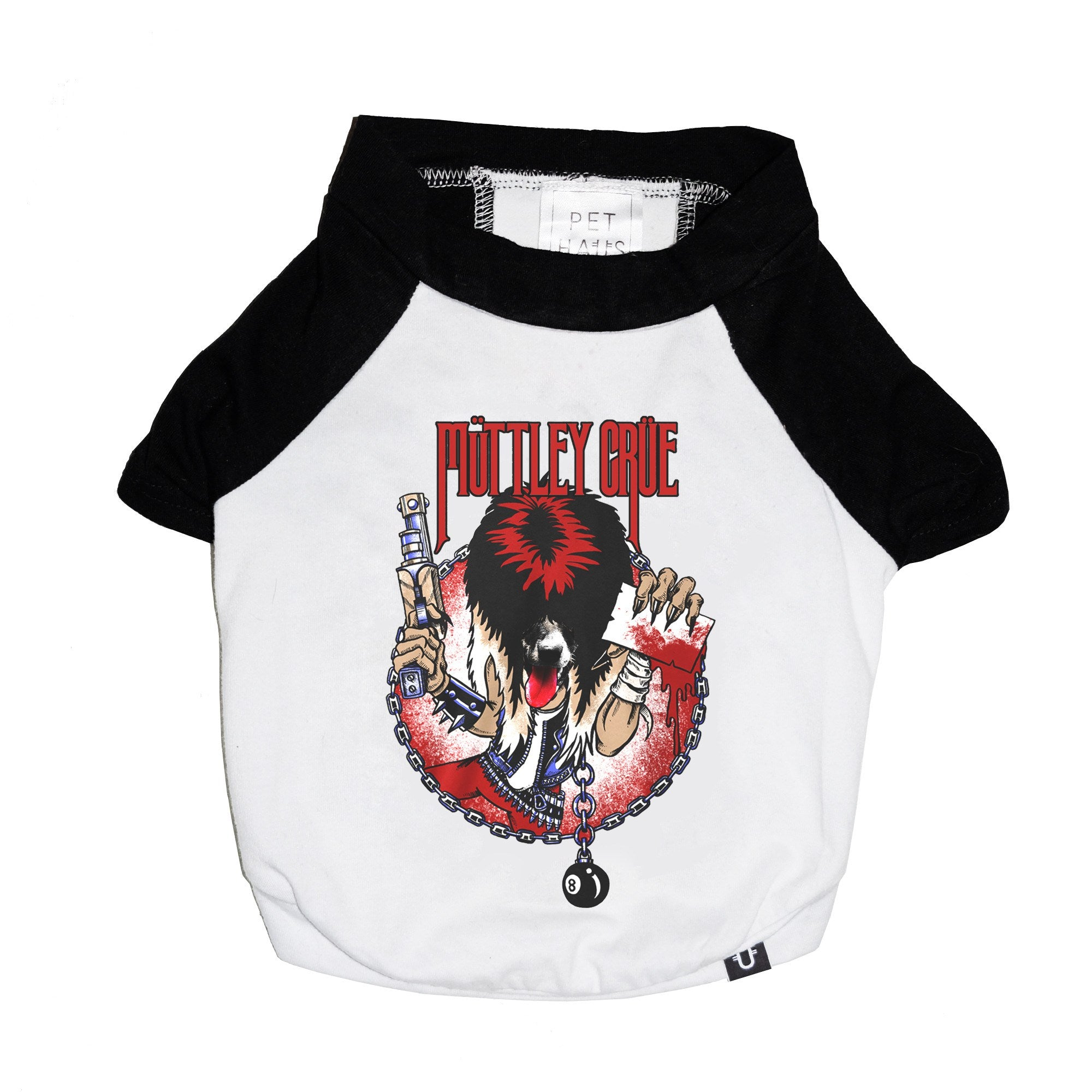 Muttley Crew Raglan Dog Tee