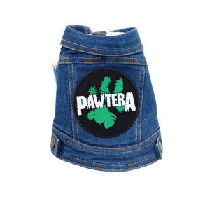 Denim Dog Vest Pawtera