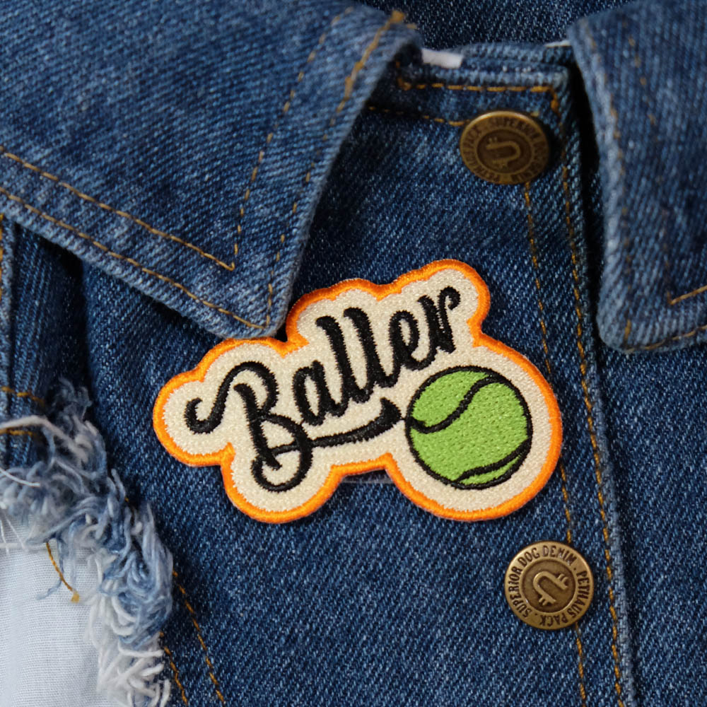 Baller dog patch