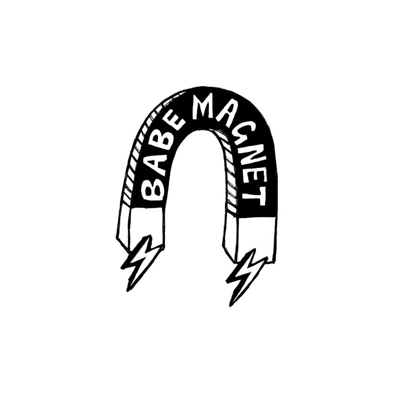 Babe Magnet embroidered patch