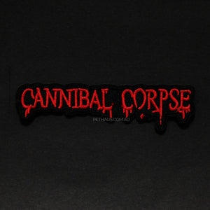 cannibal corpse patch, heavy metal patch, band patch