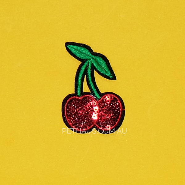 Cherries patch, Cherry patch, Kawaii patch, cute patch, small patch, retro patch,