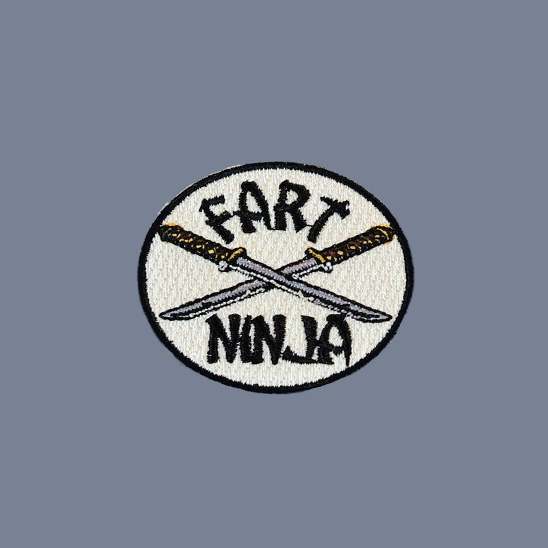 Fart Ninja Embroidered Patch