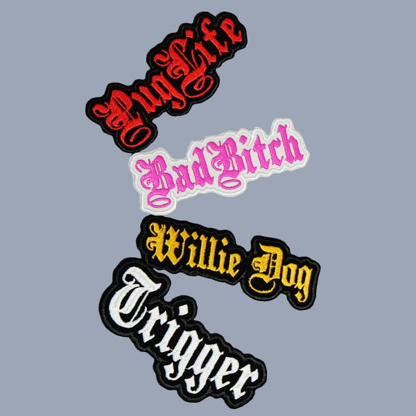 custom patches, dog patch, personalised dog gift, dog gift, service dog patch