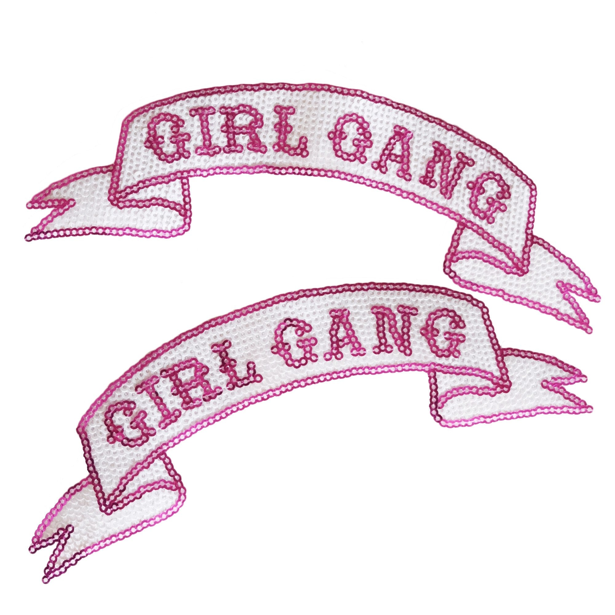 Girl Gang Sequin Patch