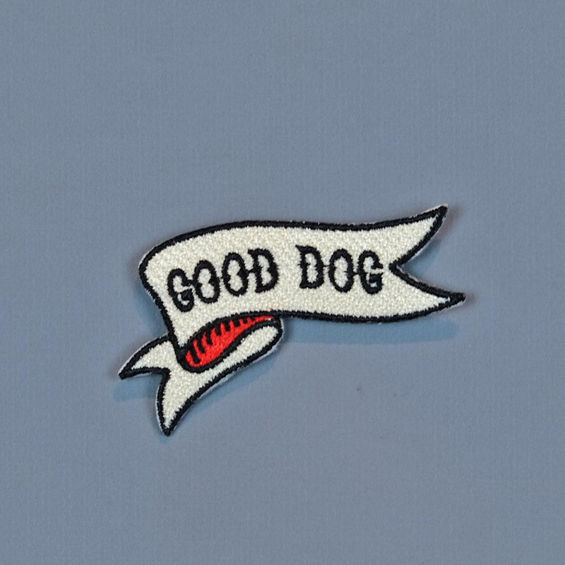 Good Dog Embroidered Patch