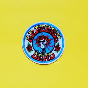 Grateful Dead Patch, Rock Patch, Band Patch, Psychedelic Patch, Cool Patch