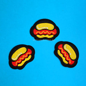 Hot Dog Patch, Sausage Dog Patch, Hawt Dog Patch, Dachshund Patch, Dog Patch, Pethaus