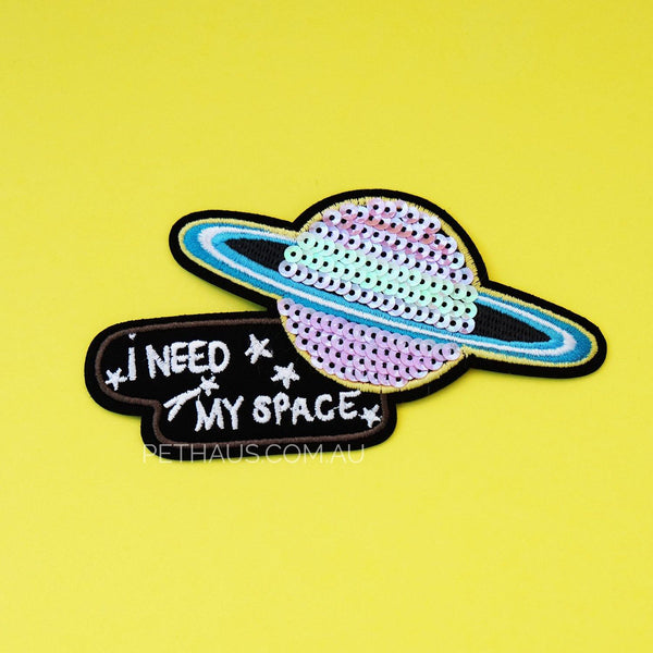 I need my space patch, space patch, planet patch, loner patch