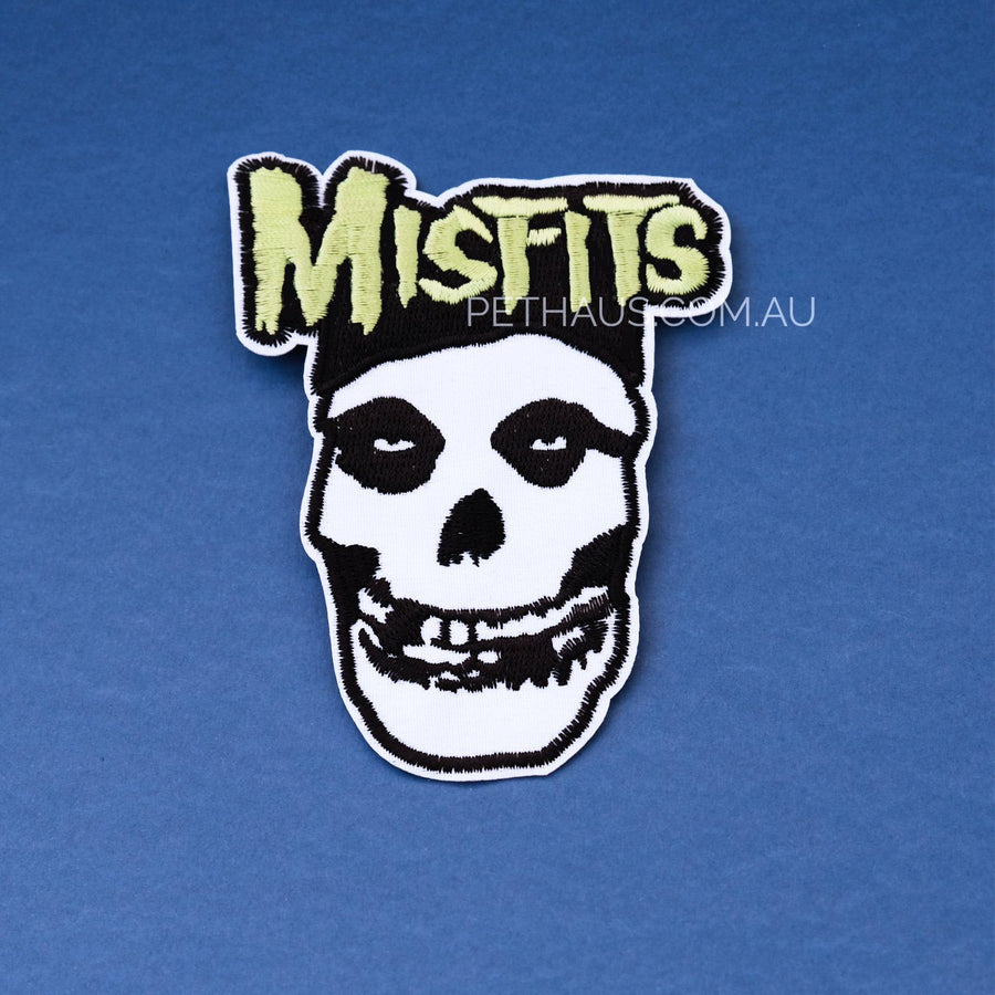 Misfits embroidered patch, band patch, punk patch, rock patch