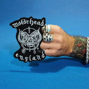 motorhead patch, rock patch, metal patch, band patch