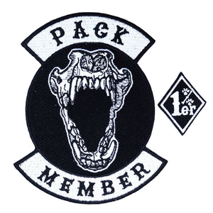 Pack Member embroidered patch by Pethaus