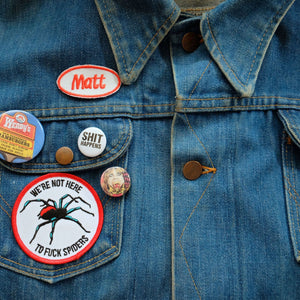 Mechanics patch, work shirt name patch, custom name patch, retro patch