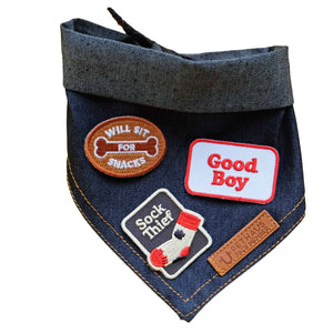 Scouts honour patch, sock thief patch, patch for dog, dog patch, pethaus patch