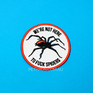 Spider patch, Marauder patch, Marauder clothing, cool patch