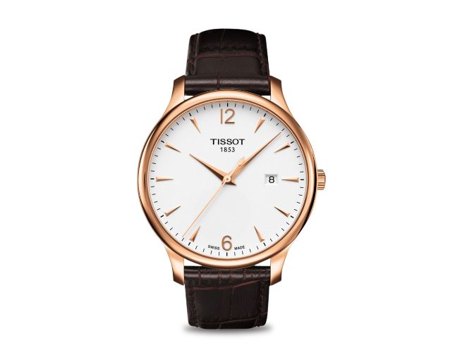 TISSOT TRADITION GTS BROWN STR AP T0636103603700